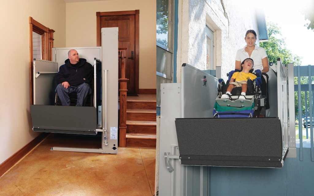 platform lifts, vertical lifts, wheelchair lifts