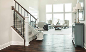 Paramount Living Aids - Authorized Distributor of Bruno Elan SRE-3050 Stairlift.